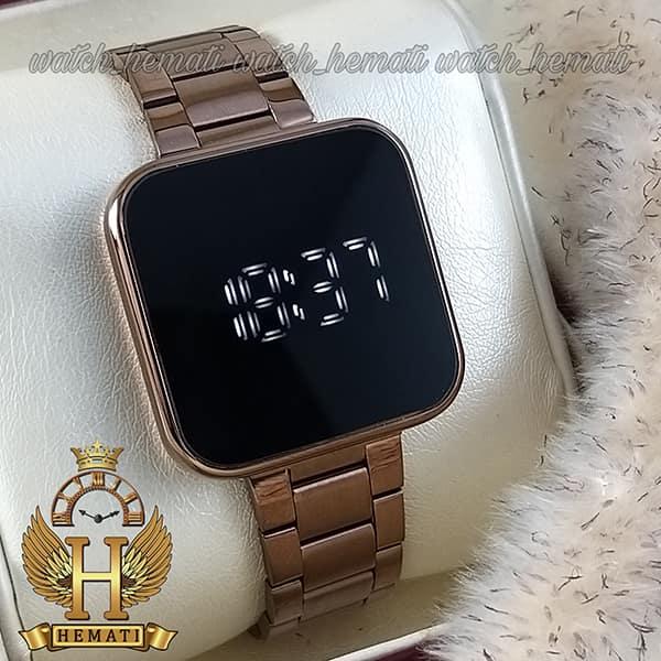 ساعت ال ای دی داتیس مدل DATIS LED D8488AL رنگ کافی