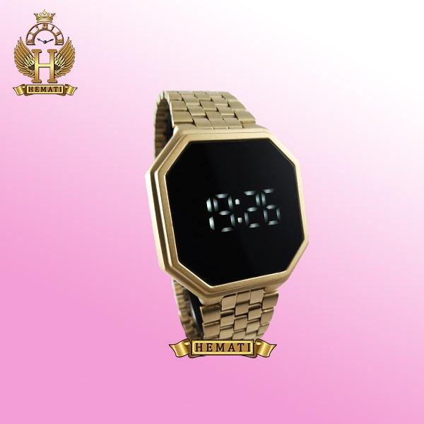 خرید ساعت ال ای دی داتیس مدل DATIS LED D8481AG رنگ طلایی