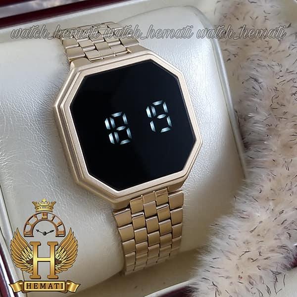 ساعت ال ای دی داتیس مدل DATIS LED D8481AG رنگ طلایی