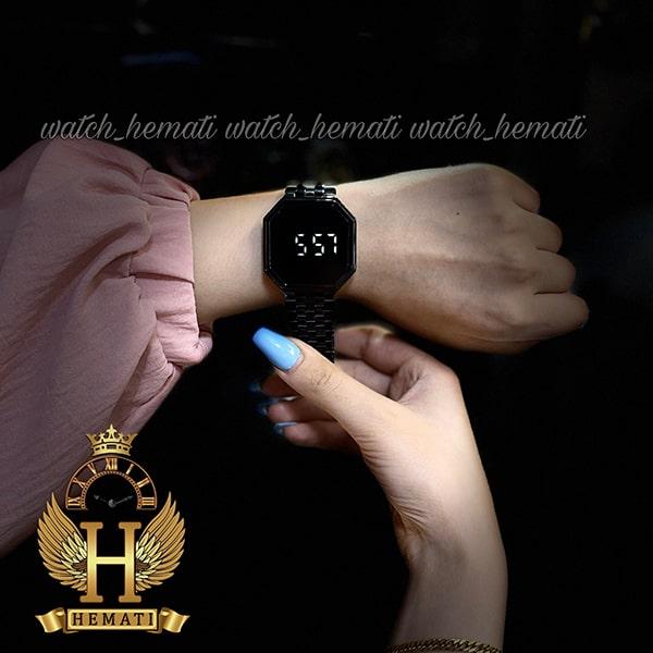 خرید آنلاین ساعت ال ای دی داتیس مدل DATIS LED D8481G رنگ مشکی