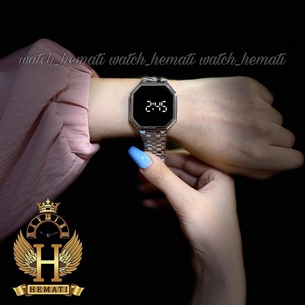 خرید اینترنتی ساعت ال ای دی داتیس مدل DATIS LED D8481G رنگ نقره ای