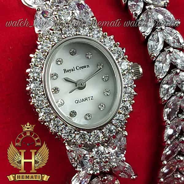 خرید ارزان ساعت رویال کرون زنانه مدل 2528 مدل پروانه ای بند بلند