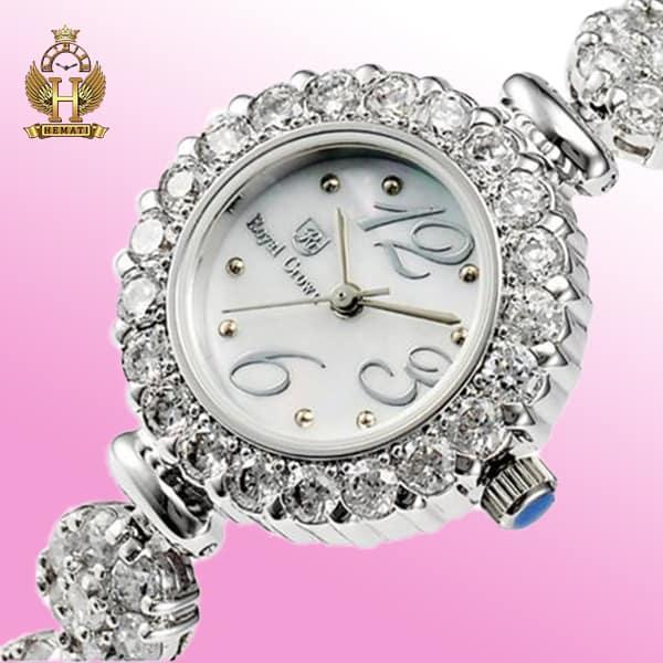 ساعت زنانه رویال کرون Royal crown 9248 تک دوربند