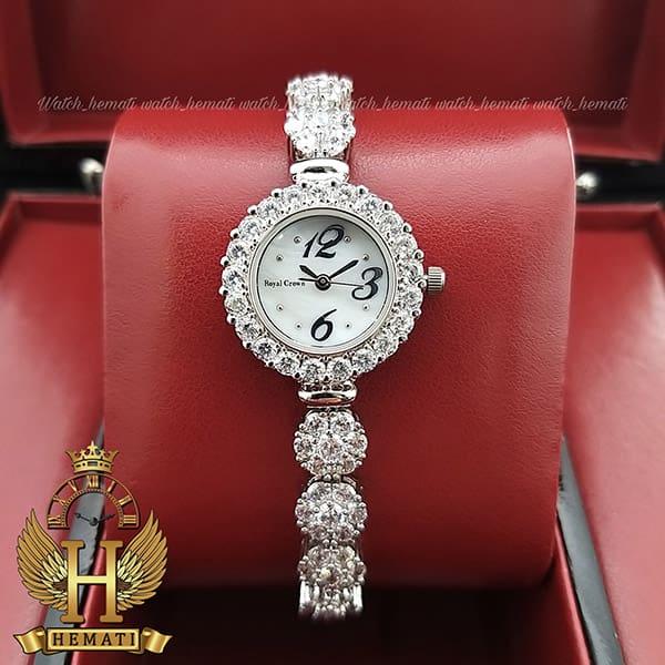 قیمت ساعت زنانه رویال کرون Royal crown 9248 تک دوربند