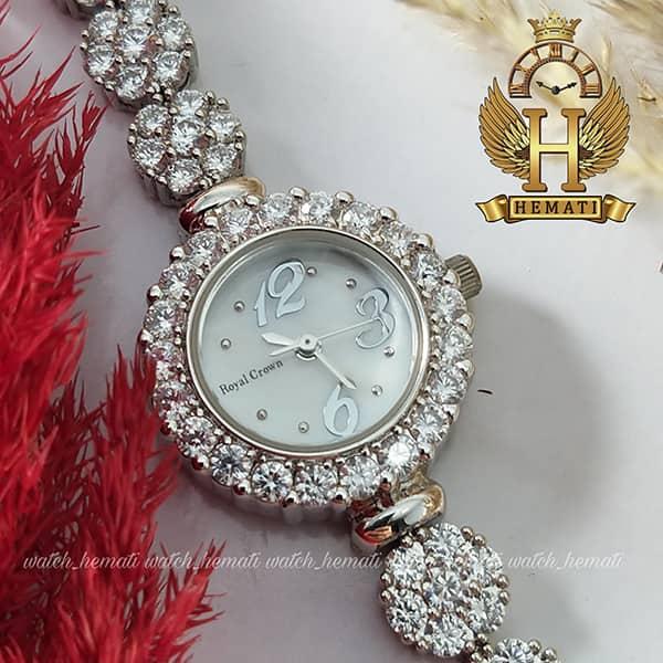 خرید ارزان ساعت زنانه رویال کرون Royal crown 9248 تک دوربند
