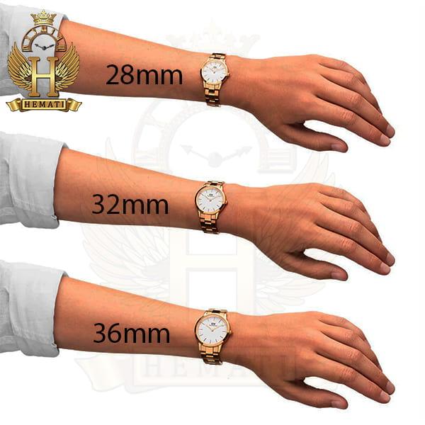 قیمت ساعت زنانه دنیل ولینگتون Daniel Wellington DWL20 رزگلد(صفحه-سفید)