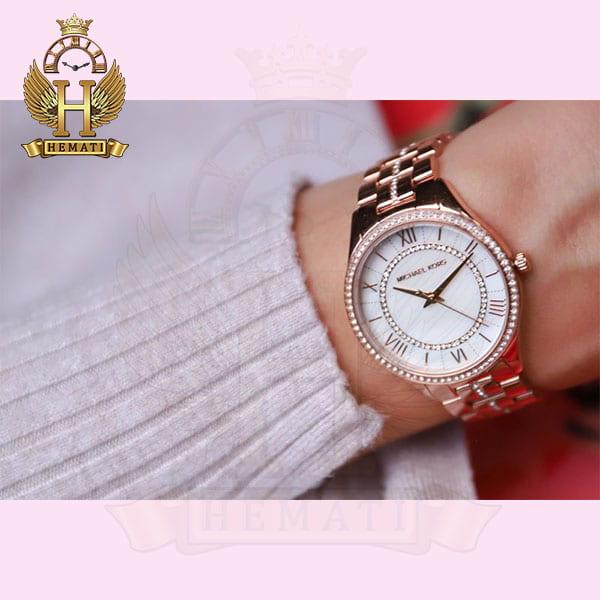 خرید اینترنتی ساعت زنانه مایکل کورس MICHAEL KORS MK3716 رزگلد