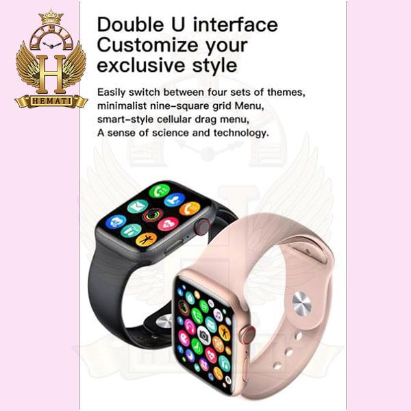 خرید ساعت هوشمند smart watch mc72pro 2021 کپی سری 6 اپل واچ