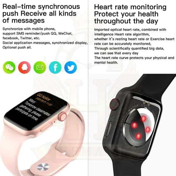 ساعت هوشمند smart watch mc72pro 2021 کپی سری 6 اپل واچ