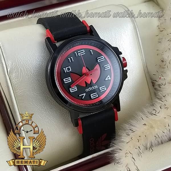 خرید ، قیمت ، مشخصات ساعت آدیداس اسپرت پسرانه و دخترانه مشکی و قرمز