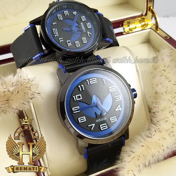 خرید ، قیمت ف مشخصات ساعت ست زنانه و مردانه آدیداس مشکی آبی