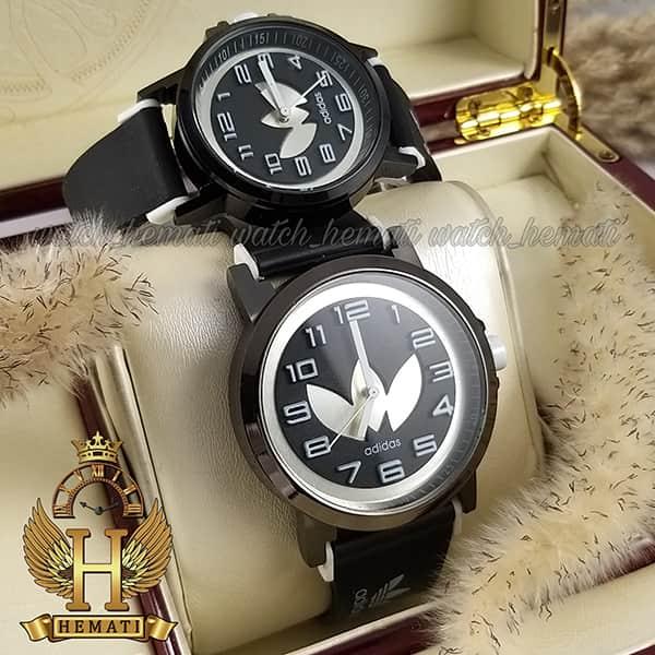 خرید ف قیمت ، مشخصات ساعت ست زنانه و مردانه آدیداس مشکی سفید