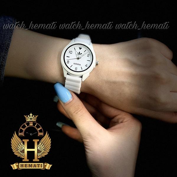 ساعت جدید اسپرت آدیداس دخترانه و پسرانه ADIDAS AD104 سفید_مشکی