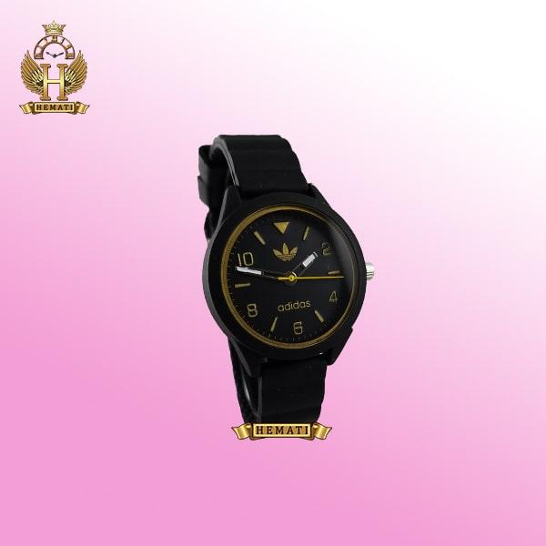 ساعت اسپرت آدیداس دخترانه و پسرانه ADIDAS AD100 مشکی_طلایی ارزان قیمت