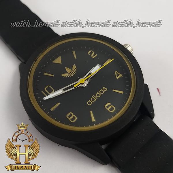 خرید ارزان ساعت اسپرت آدیداس دخترانه و پسرانه ADIDAS AD100 مشکی_طلایی ارزان قیمت