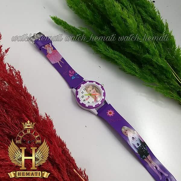 خرید ، قیمت ، مشخصات ساعت دخترانه باربی رنگ بنفش