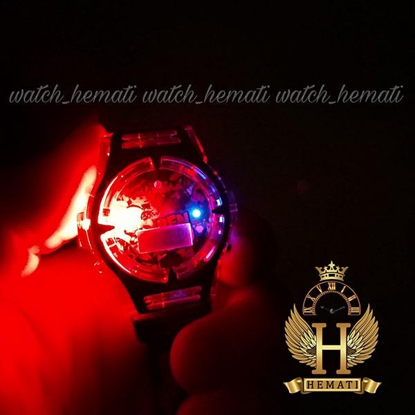 مشخصات ساعت پسرانه بن تن کامپیوتری موزیکال چراغدار ch201 مشکی