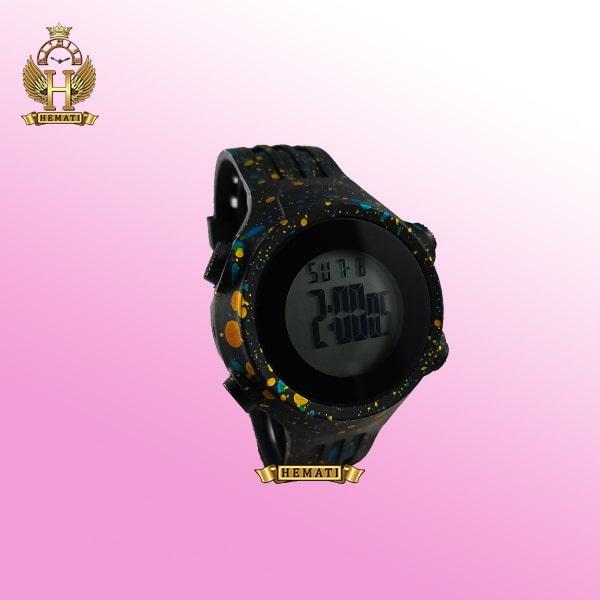 ساعت اسپرت بنمی BNMI 1803L آبرنگی آبی و زرد
