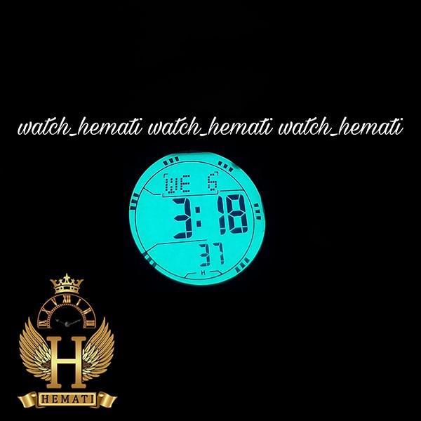 خرید ارزان ساعت اسپرت بنمی BNMI 1810L آبرنگی مشکی و آبی