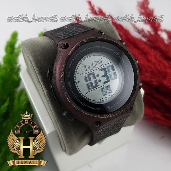 خرید ف قیمت ، مشخصات ساعت اسپرت بنمی BNMI 1810L آبرنگی مشکی و بنفش