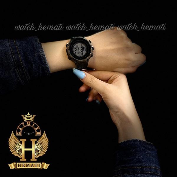 خرید اینترنتی ساعت اسپرت بنمی BNMI 1810L آبرنگی مشکی و رزگلد