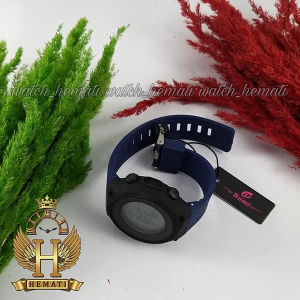 خرید ساعت اسپرت بنمی BNMI 1810L قاب مشکی و بند سرمه ای