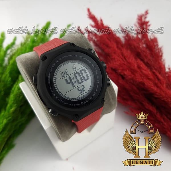 خرید انلاین ساعت اسپرت بنمی BNMI 1810L قاب مشکی و بند قرمز