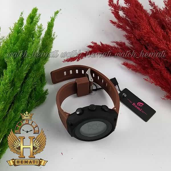 خرید ، قیمت ، مشخصات ساعت اسپرت بنمی BNMI 1810L قاب مشکی و بند قهوه ای