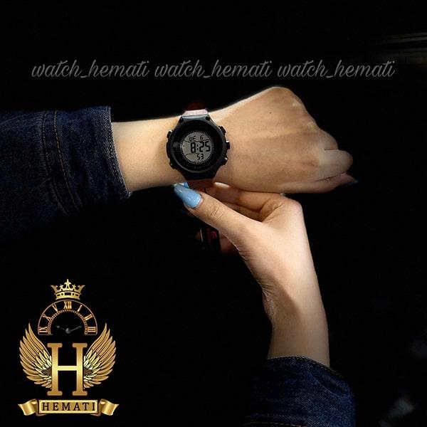 خرید ارزان ساعت اسپرت بنمی BNMI 1810L قاب مشکی و بند قهوه ای