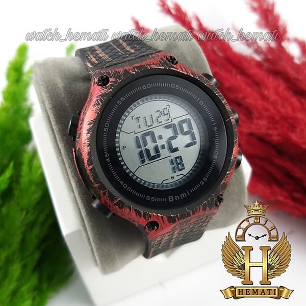 خرید ، قیمت ، مشخصات ساعت اسپرت بنمی BNMI 1810L آبرنگی مشکی و قرمز