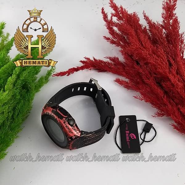 خرید ارزان ساعت اسپرت بنمی BNMI 1810L آبرنگی مشکی و قرمز