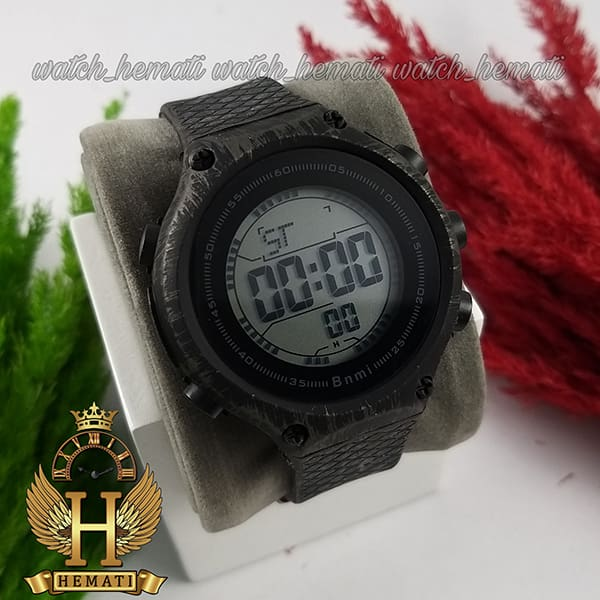 خرید ، قیمت ، مشخصات ساعت اسپرت بنمی BNMI 1810L آبرنگی مشکی و نقره ای