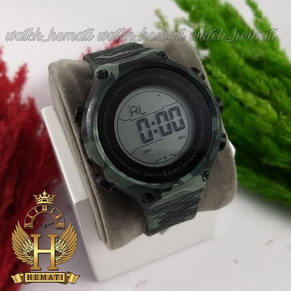 خرید ، قیمت ، مشخصات ساعت اسپرت بنمی BNMI 1810L چریکی سبز تیره