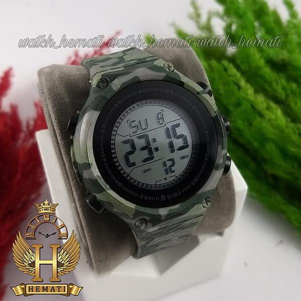 خرید ، قیمت ، مشخصات ساعت اسپرت بنمی BNMI 1810L چریکی سبز روشن