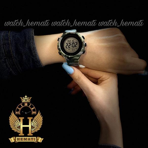 خرید انلاین ساعت اسپرت بنمی BNMI 1810L چریکی سبز روشن