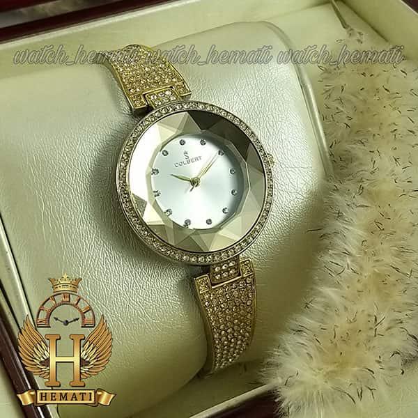 خرید ارزان ساعت مچی زنانه کلبرت COLBERT 007L نقره ای طلایی