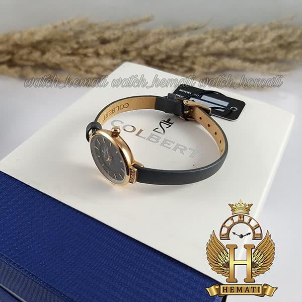 خرید ساعت مچی دخترانه کلبرت مدل COLBERT 0104L قاب رزگلد طوسی و مشکی