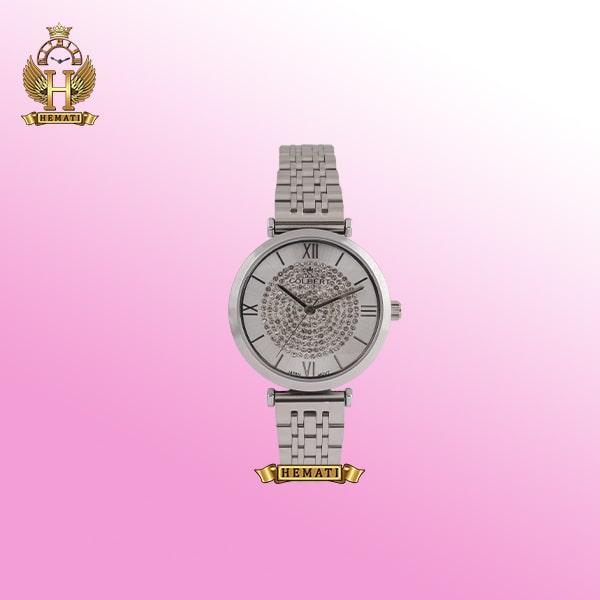 خرید ساعت زنانه کلبرت 0124L COLBERT طرح امپریو آرمانی نقره ای