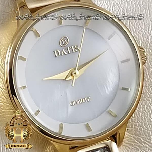 خرید ساعت مچی زنانه داتیس مدل D8341CL رنگ طلایی