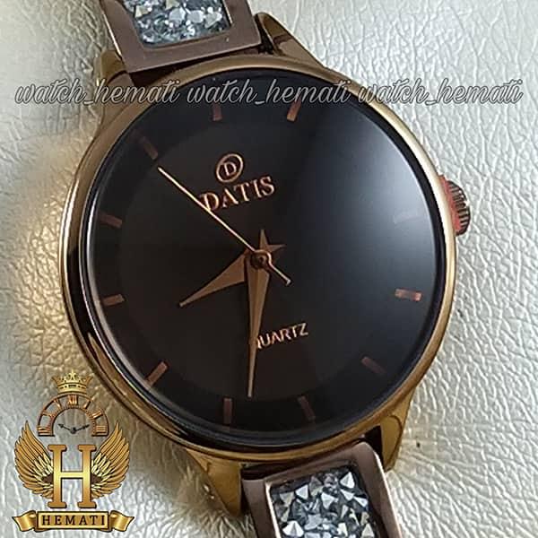 خرید آنلاین ساعت زنانه داتیس اورجینال مدل D8341CL به رنگ کافی