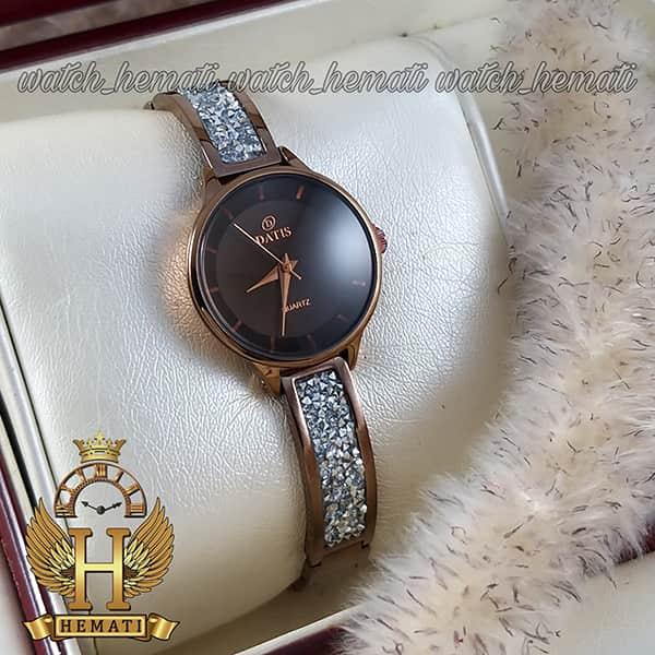 قیمت ساعت زنانه داتیس مدل D8341CL به رنگ کافی