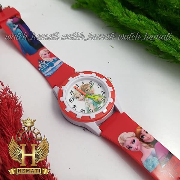 خرید انلاین ساعت دخترانه السا و انا عقربه ای به رنگ قرمز
