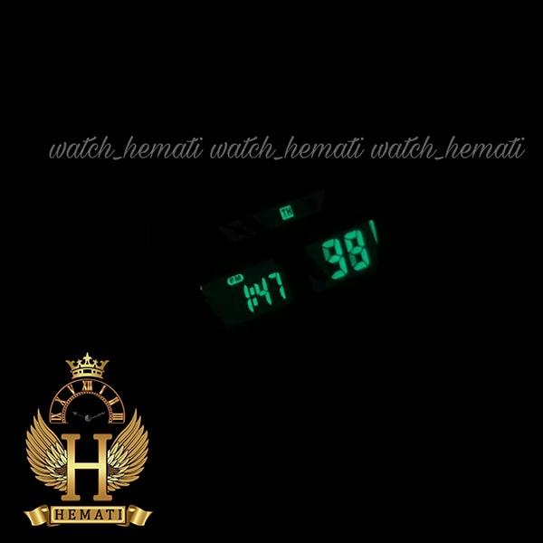 چراغ دید در شب ساعت مردانه دو زمانه اچ پلو HPOLW fsk1519