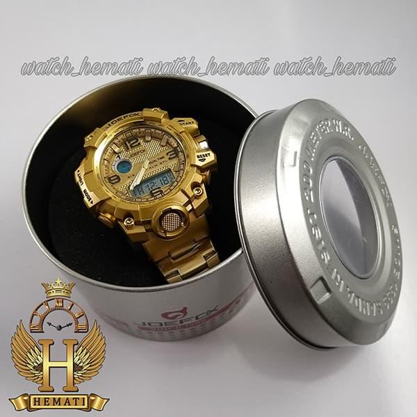 قیمت ساعت مردانه دو زمانه جوفاکس JOEFOX 1523G طلایی