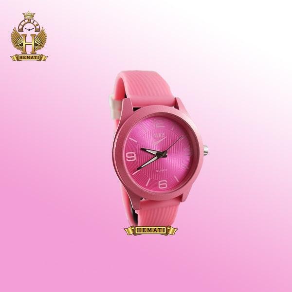 ساعت جدید دخترانه نایک NIKE NK105 سرخابی_سفید