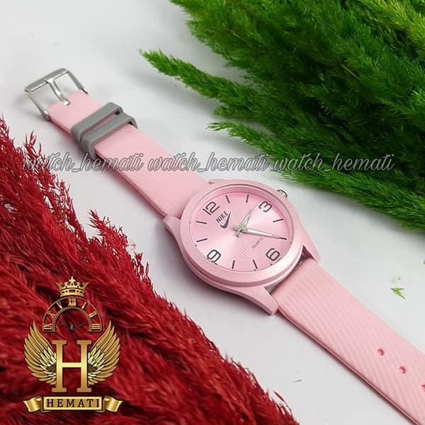 ساعت جدید دخترانه نایک NIKE NK101 صورتی_طوسی
