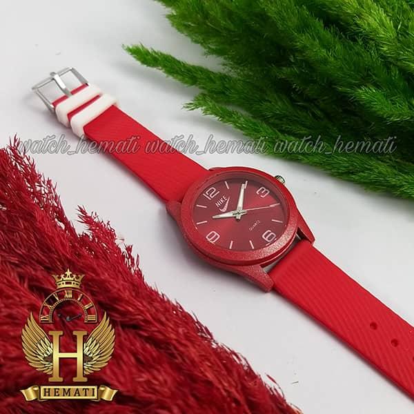 ساعت جدید اسپرت نایک پسرانه و دخترانه NIKE NK102 قرمز_سفید