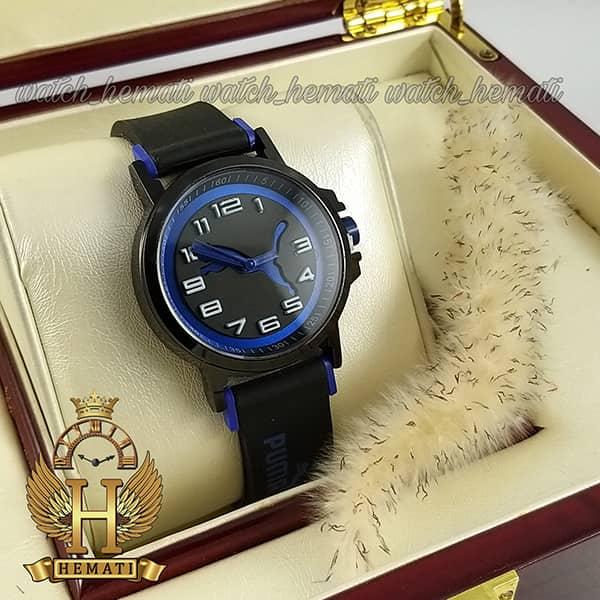 خرید ، قیمت ، مشخصات ساعت اسپرت پوما PUMA PM101 مشکی_آبی