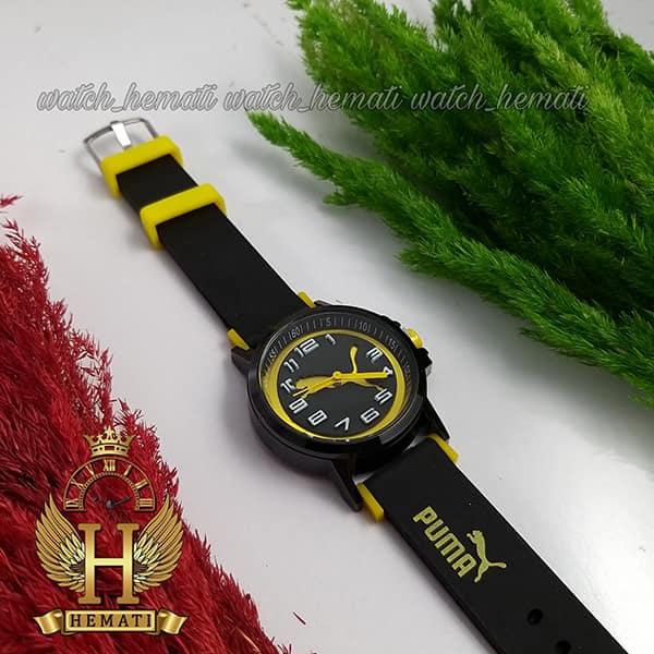 خرید ، قیمت ، مشخصات ساعت اسپرت پوما PUMA PM102 مشکی_زرد