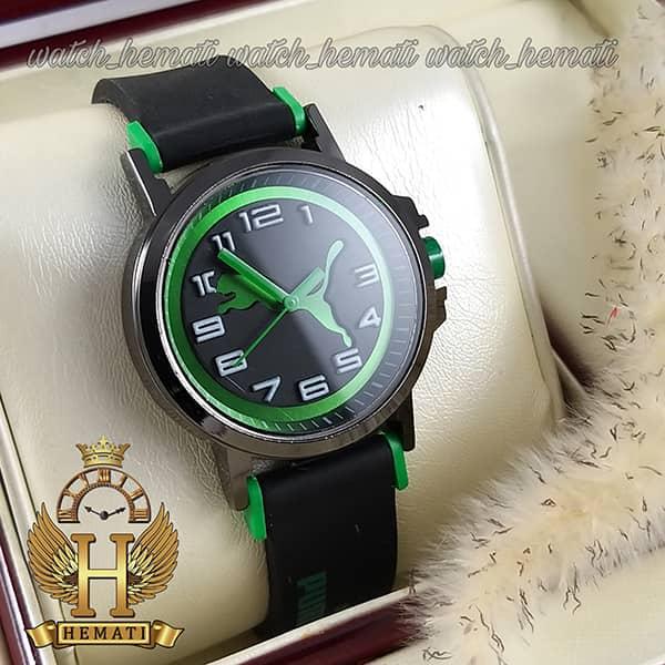 خرید ، قیمت ، مشخصات ساعت اسپرت پوما PUMA PM100 مشکی_سبز